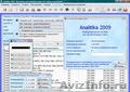 Analitika 2009 - Бесплатный программный продукт для управления организацией