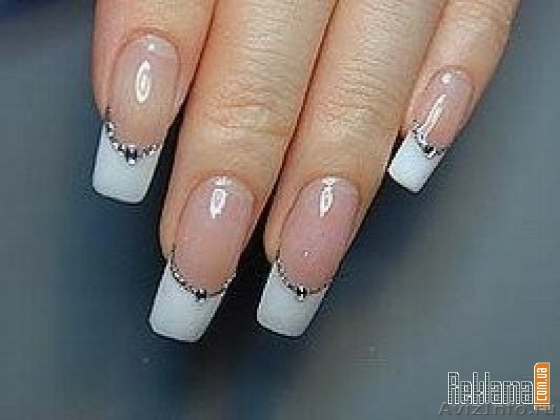 наращивание рисунки ногтей: