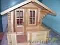 Деревянные кукольные домики