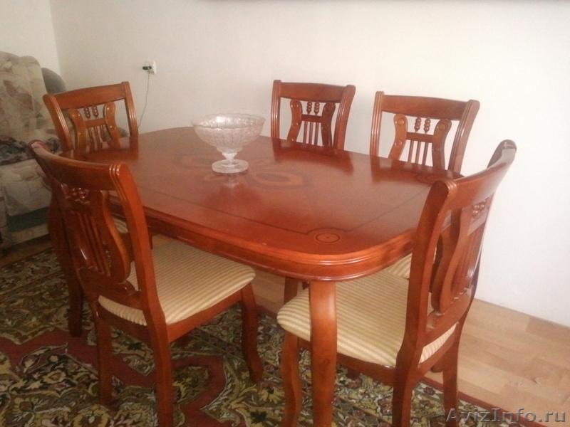 Фото стола и стульев в махачкала