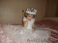 очень красивое белое платье на3-5 лет одевали один раз в отличном состоянии